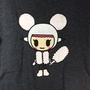 tokidoki Tops - Tokidoki Cotton Candy Girl Tee